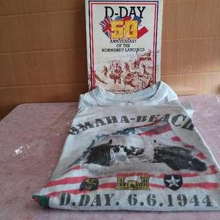 軍事迷:  D-Day 50週年紀念特刊和T-Shirt