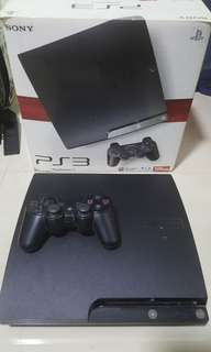 PS3 Slim 120GB with 10 games for ONLY $120.