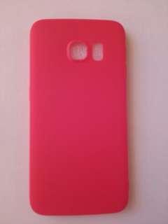 Samsung S6 edge電話殼紅色 全新 包郵