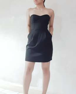 Forever 21 Strapless Little Black Dress