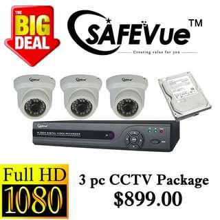 SafeVue 1080P IP CCTV Package 3
