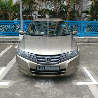 Honda City for rent long term personal or private hire relief driver