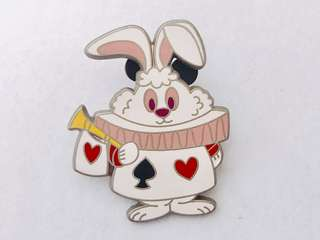 [交換優先] 迪士尼 愛麗絲 白兔先生 pin