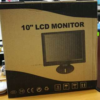 """10"""" LCD colour monitor"""