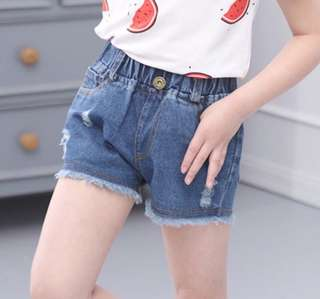 SB 042 Denim Shorts