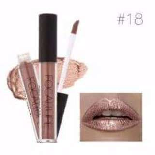 Readystock Focallure - Ultra Chic Lips Lip gloss #18 salt