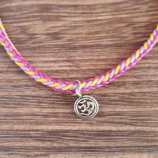🚚 彩虹🌈蠟線編織腳環