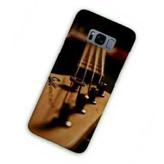 Bass Guitar Samsung Galaxy S8 Custom Hard Case