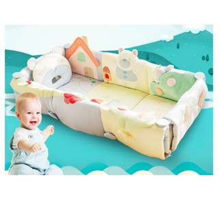 Baby Portable Travel Bed Playmat