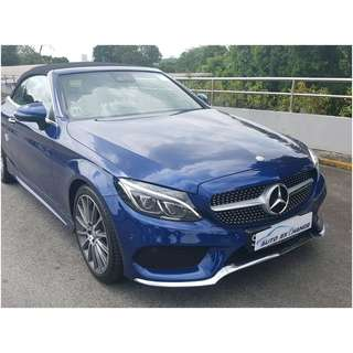 MERCEDES BENZ C200 A/T ABS AIRBAGS 2WD SOFTOP