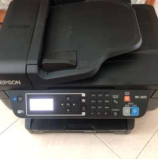FINAL REDUCTION!!! Epson wf-2651 all in one printer