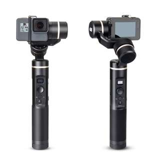 Feiyu G6 3-Axis Splash Proof Handheld Gimbal Updated Version of G5 for GoPro Hero 6/5/4/3/Session, Sony RX0, Yi Cam 4K, AEE Action Cameras