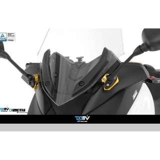 YAMAHA X-MAX300 17-18 Mirrors Extension Kit