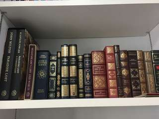 ANTIQUE/RARE BOOKS COLLECTION