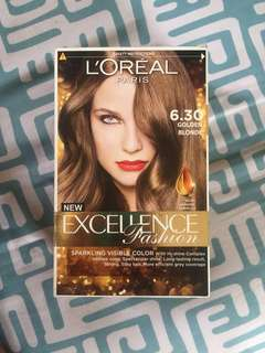 Loreal excellence fashion (golden blonde) never used
