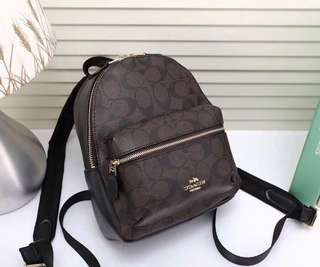 Coach mini backpack