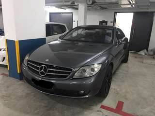 Mercedes Benz CL500  2008/10  Now clear stock SG