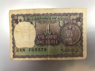Old Note - India Old Note