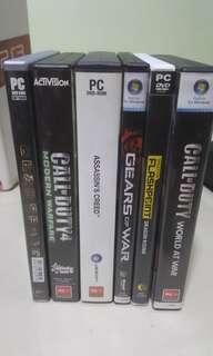PC games $5 each.
