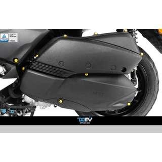YAMAHA XMAX 300 17 - 18 Aluminum Alloy Screw set