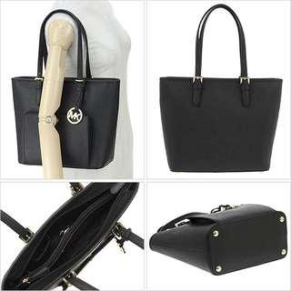 Michael Kors Jet Set Item Tote Bag - Black