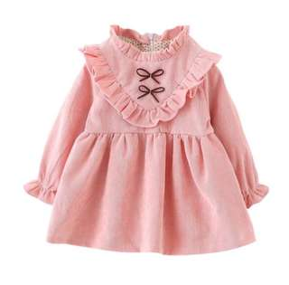 SB 050 Girl Long Sleeve Cute Dress