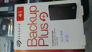 Seagate backup plus or WD my passport 4TB(all colours )