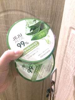 FREE The Face Shop Jeju Aloe Fresh Sooothing Gel