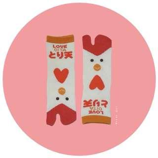 。error dot。日本外袋一份炸雞兩趾襪/足袋
