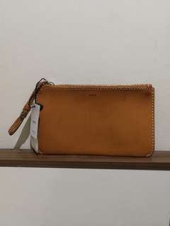 Mango Flat Leather Pouch (brand new with tag)