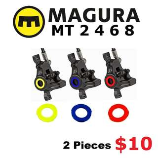 Magura MT2 MT4 MT6 MT8 Caliper Cover Kits Colour Ring--------  (Magura MT2 MT4 MT5 MT5e MT6 MT7 MT8 Trail XTR M9020 XT M8020 M8000 M785 SLX M7000 M675 M315 ) DYU