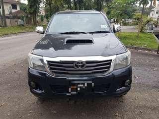 Toyota Hilux 2.5 VNT