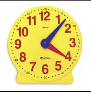 Learning Resources 4 inch Geared Clock