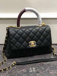 Ramadhan sale! chanel coco handle 23cm mirror replica bag