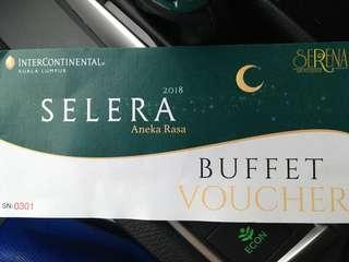 Dinner Buffet voucher Inter Continental hotel