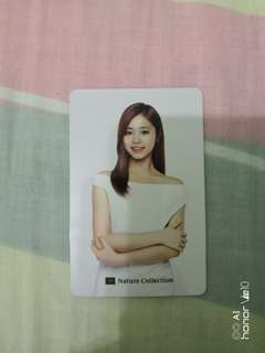 Twice Photocard nature Tzuyu