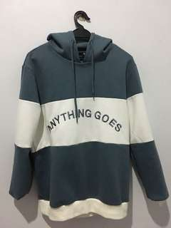 Hoodie nix - Anything goes