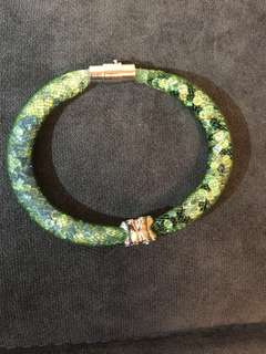 獨一無二手工名貴水晶手鈪 - 翡翠綠 Hand made crystal bracelet