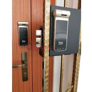 [Limited Stock] Gateman Z10-IH Fingerprint Digital Lock for Main Door and Gate at $799