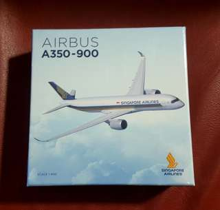 Singapore Airlines AIRBUS A350 -900 Plane Model
