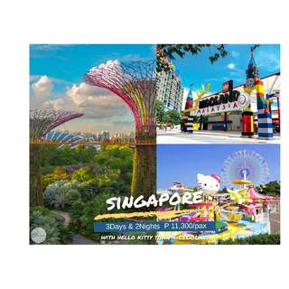 3D2N Singapore with Hello Kitty Town + Legoland