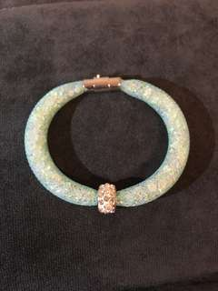 獨一無二手工名貴水晶手鈪 - 彩藍 Hand made crystal bracelet