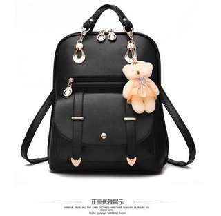 PRE-ORDER: Korean Leather Backpack