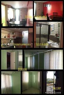 Semi furnished 30sqm 1 bedroom condo with balcony