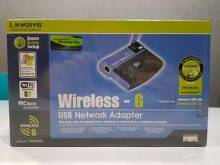 Wirelss USB network adapter