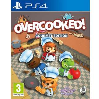 PS4 Overcooked The Gourmet Edition