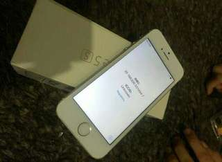 Reprice Iphone 5s gold 16gb