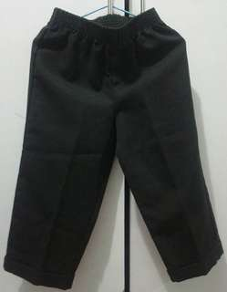 Black slacks 3T