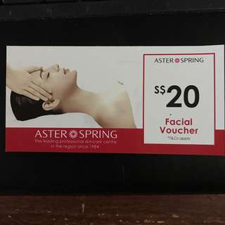 Aster Spring $20 voucher free giveaway to bless #Blessing