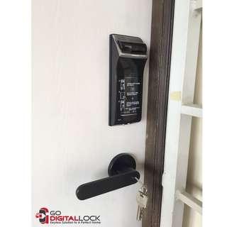 Gateman WF20 Fingerprint Digital Lock for HDB/BTO/CONDO Main Door at $348